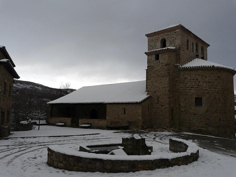 La Sierra de Madrid desde el Huerto de León
